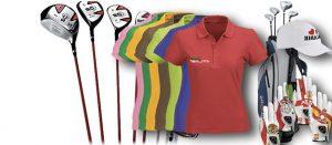 cout du matériel de golf