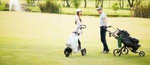 chariot de golf manuel et electrique